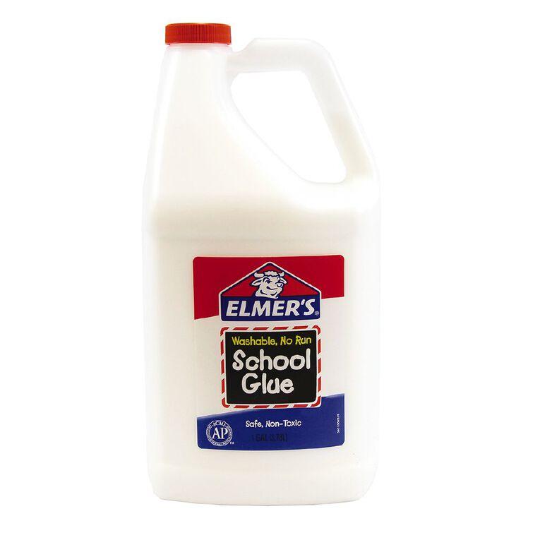 Elmer's White Liquid School Glue 3.8L White, , hi-res