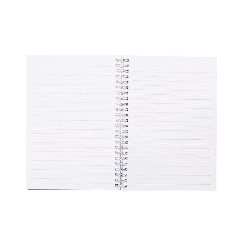 Uniti Colour Pop Notebook Hardcover Blue Dark A5, , hi-res