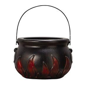 Scarehouse Halloween Plastic Cauldron