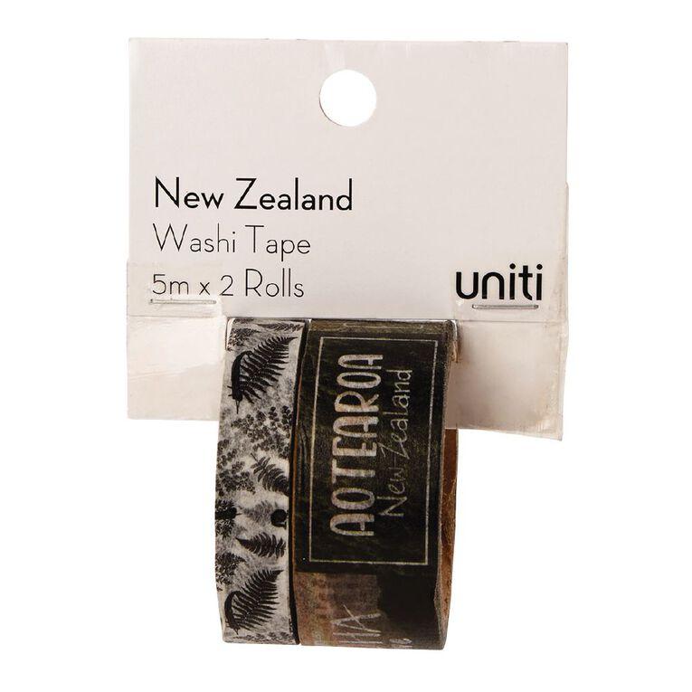 Uniti New Zealand Washi Tape 2 Pack Aotearoa, , hi-res