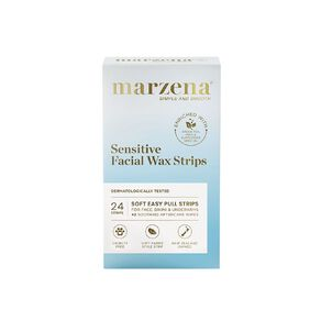 Marzena Sensitive Facial Wax Strips 24 Pack