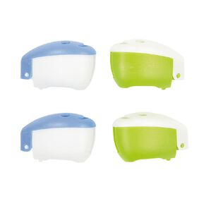 Colour Co. Toothbrush Head Covers 4 Pack
