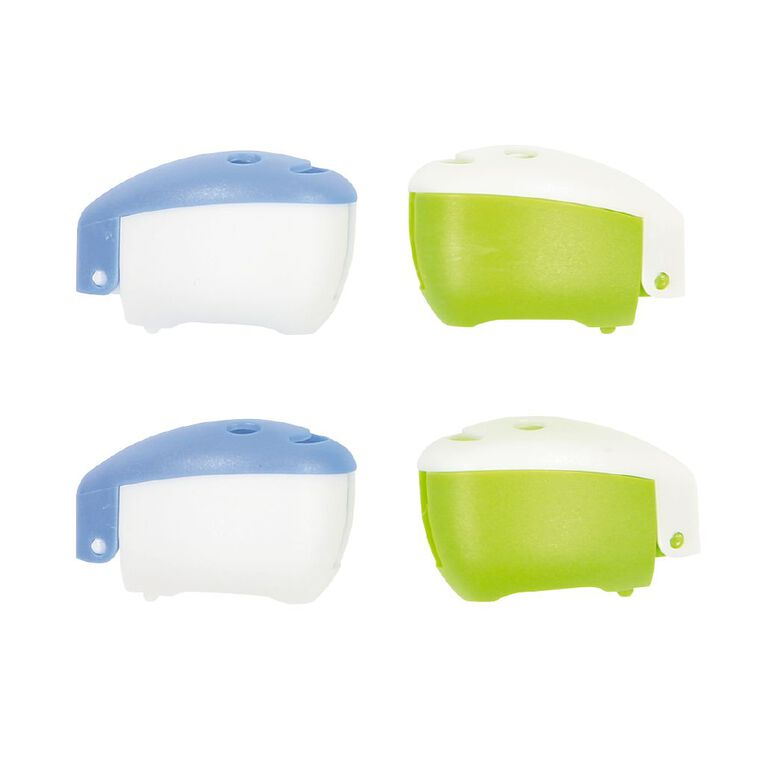 Colour Co. Toothbrush Head Covers 4 Pack, , hi-res