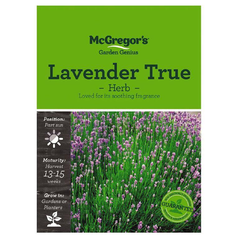 McGregor's Lavender True Herb Seed, , hi-res
