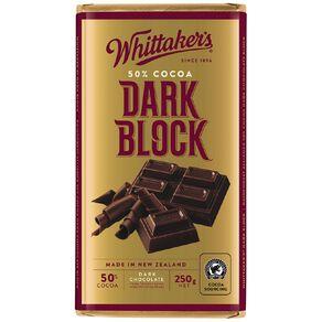 Whittaker's Classic Dark Block 250g