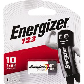 Energizer Lithium Coin Battery 123