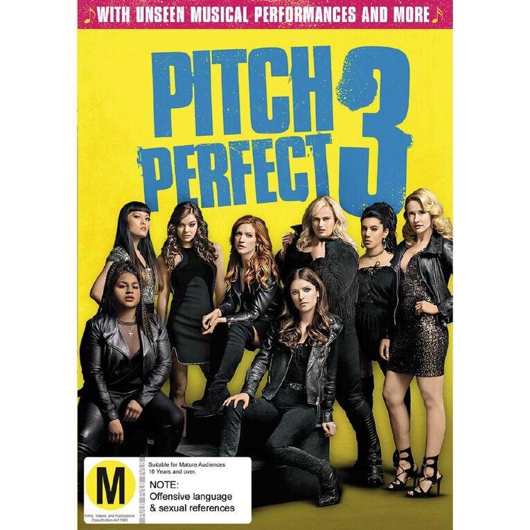 Pitch Perfect 3 DVD 1Disc, , hi-res