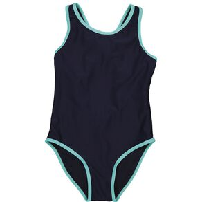 Young Original Girls' Contrast Swimsuit