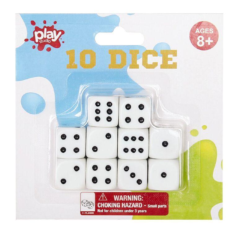 Play Studio Game Dice 10 Pack Game, , hi-res