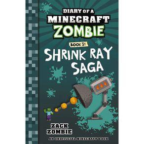 Diary of a Minecraft Zombie #31 Shrink Ray Saga by Zack Zombie