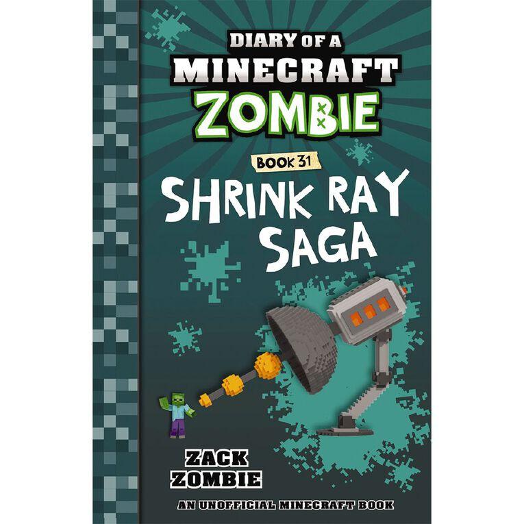 Diary of a Minecraft Zombie #31 Shrink Ray Saga by Zack Zombie, , hi-res