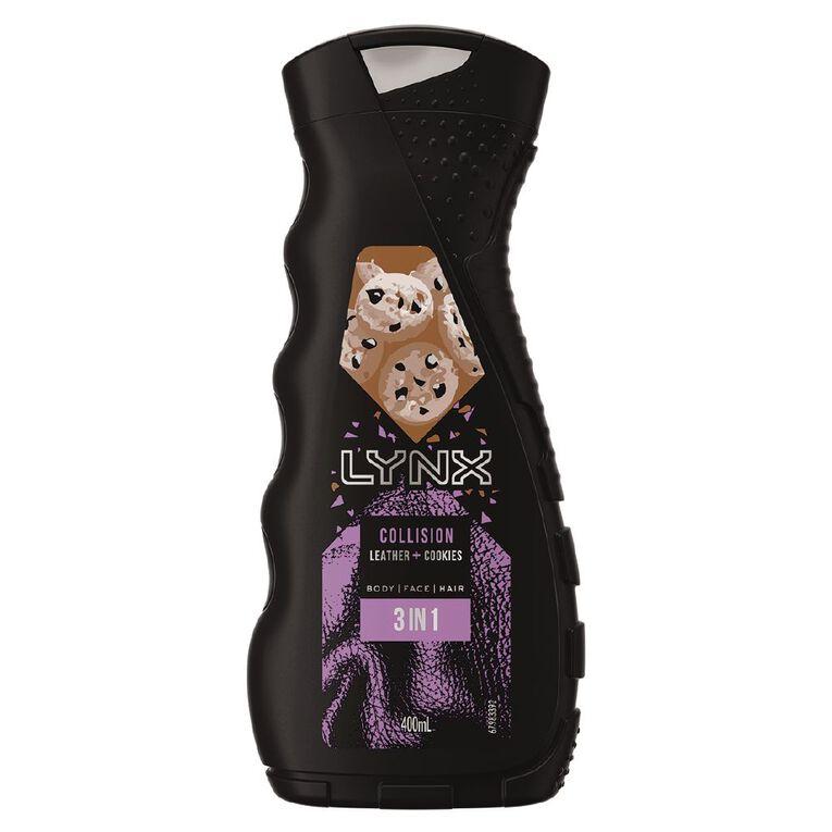 Lynx Bodywash Leather & Cookies 400ml, , hi-res