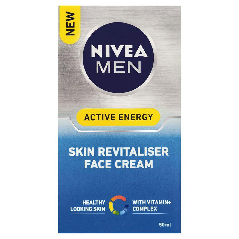 Nivea For Men Skin Energy Creme Q10 50ml, , hi-res