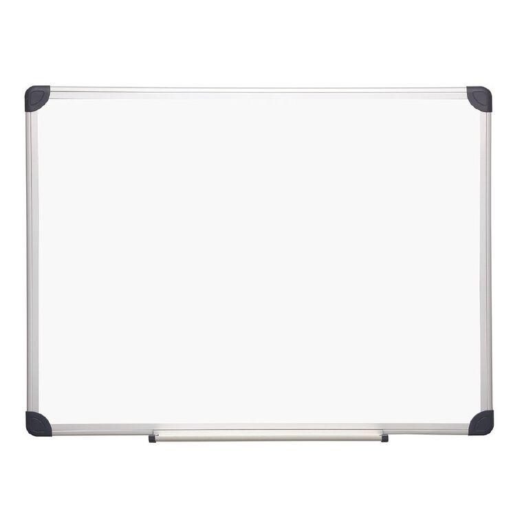 Litewyte Magnetic Whiteboard 600mm x 900mm Aluminium Frame, , hi-res