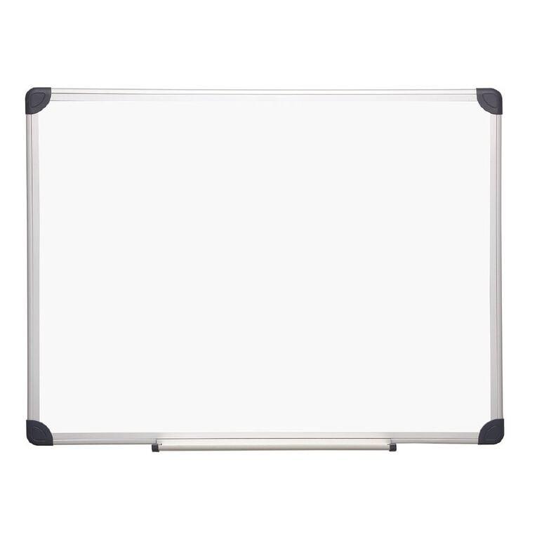 Litewyte Magnetic Whiteboard 900mm x 1200mm Aluminium Frame, , hi-res