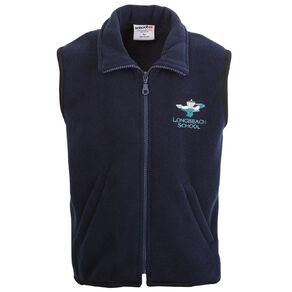 Schooltex Longbeach Polar Fleece Vest with Embroidery