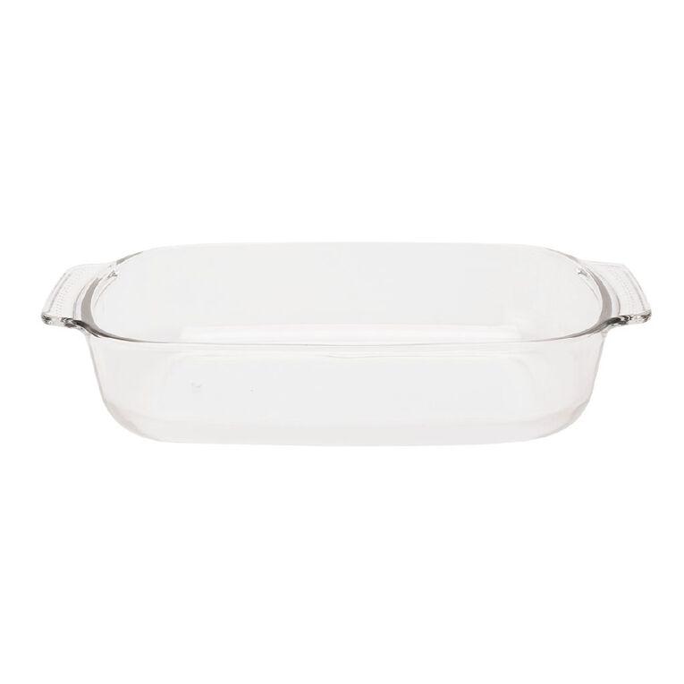 Living & Co Glass Baker Rectangle 1.8L, , hi-res