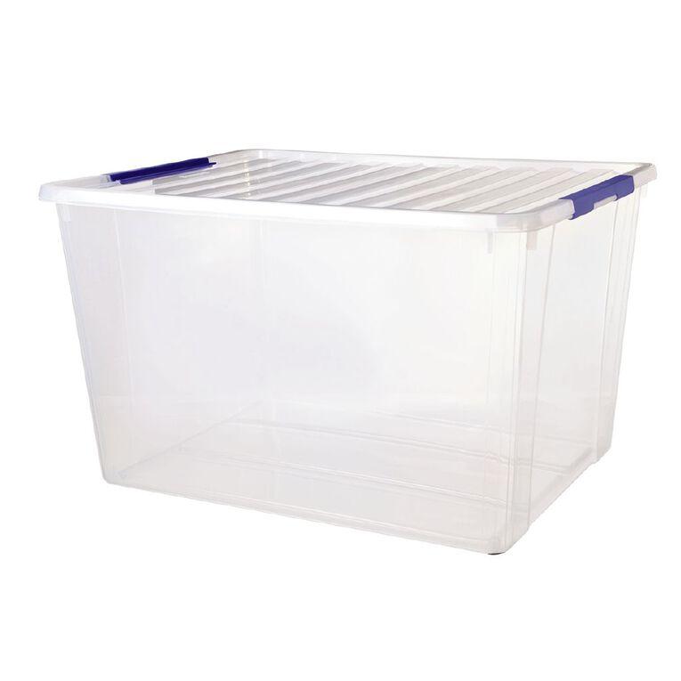 Sistema Storage Organiser Clear 90L, , hi-res