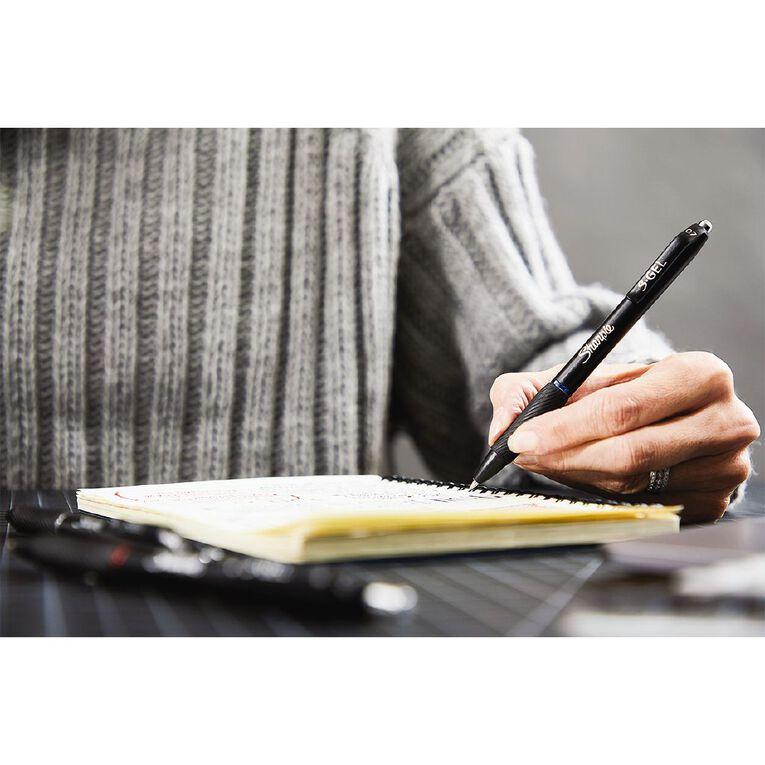 Sharpie Retractable 0.7mm Gel Pen Blue 2 Pack, , hi-res