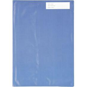 WS Book Sleeve A4 Little Blue 1 Pack