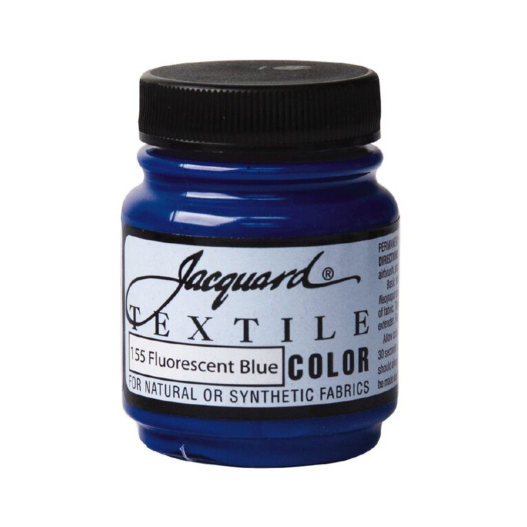 Jacquard Textile Colours 66.54ml Fluorescent Blue, , hi-res
