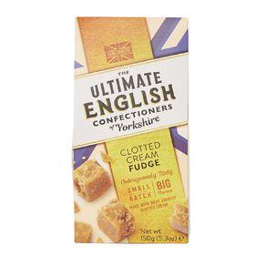 Ultimate English Ultimate English Clotted Cream Fudge 150g