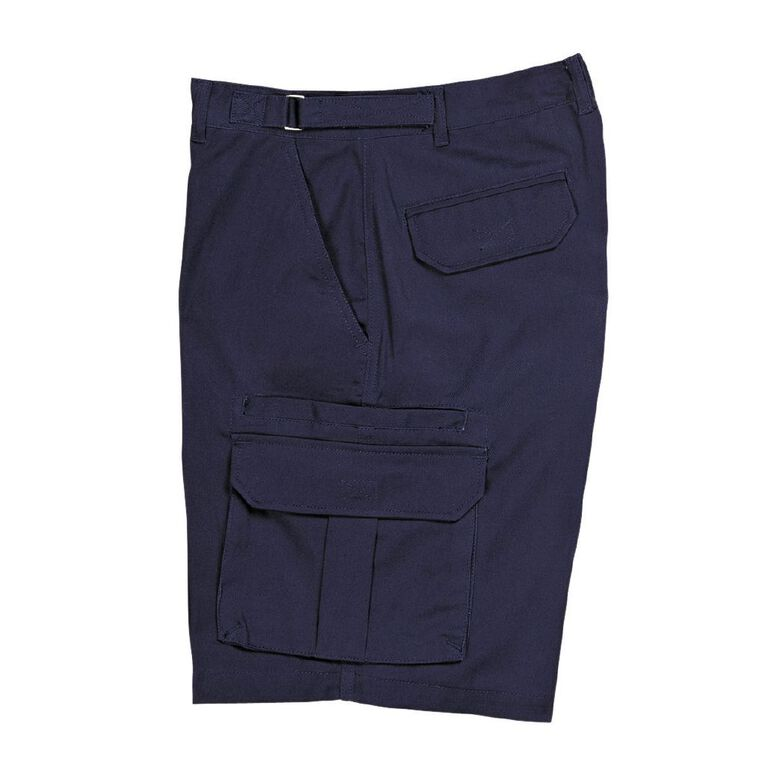 Bisley Workwear Cargo Shorts, Navy, hi-res