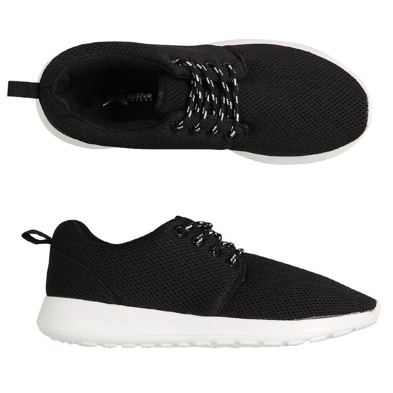 Active Intent Track Shoes, Black/White W20, hi-res image number null