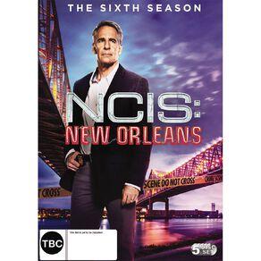 NCIS New Orleans Season 6 DVD 1Disc