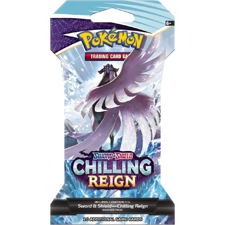 Pokemon TCG Sword and Shield 6- Chilling Reign Blister, , hi-res