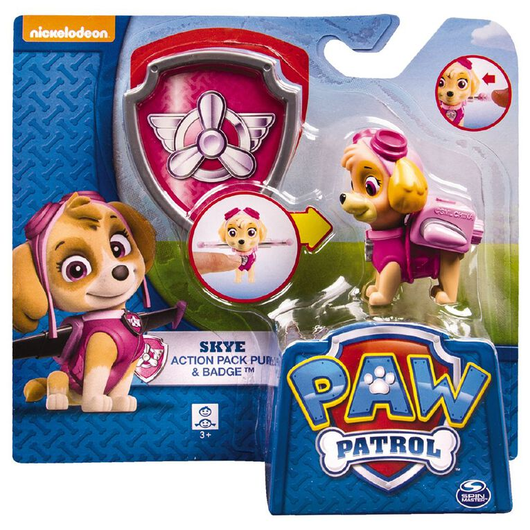 Paw Patrol Action Pack Pup Badge Assorted, , hi-res