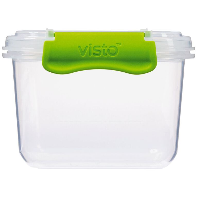 Visto Fresh Storage Container Clear 420ml Assorted 420ml, , hi-res