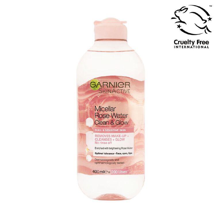 Garnier Micellar Rose Water 400ml, , hi-res