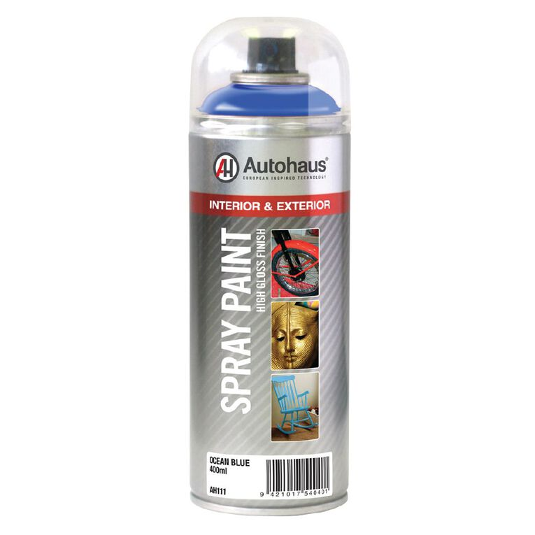 Autohaus Spray Paint Ocean Blue 400ml, , hi-res