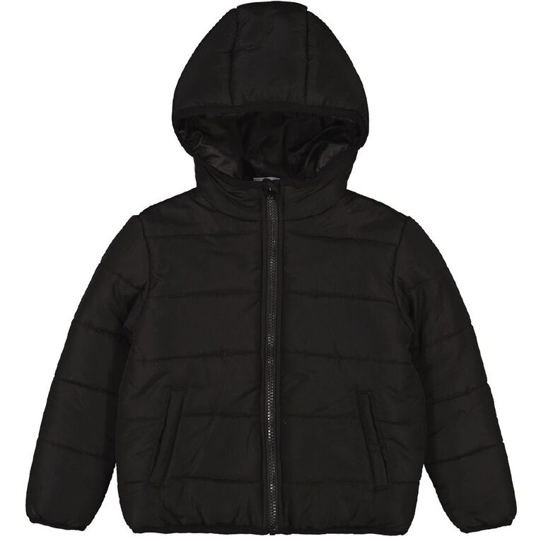 Young Original Candy Puffer Jacket, Black, hi-res