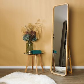 Living & Co Boden Easel Mirror 45cm x 4cm 7 x 156cm Natural
