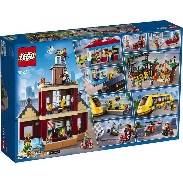 LEGO City Main Square 60271, , hi-res