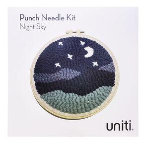 Uniti Punch Needle Kit Night Sky