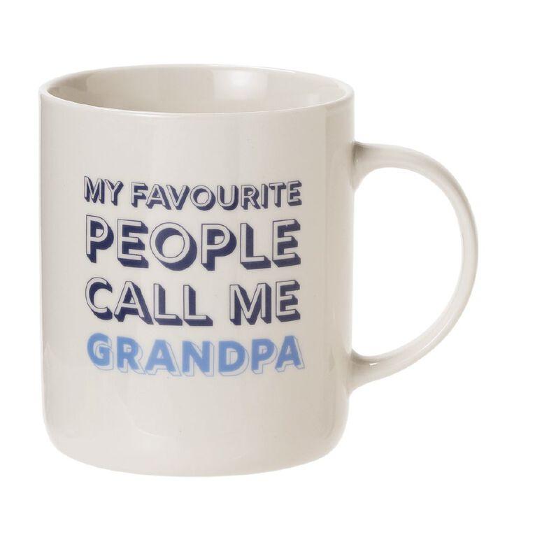 Living & Co Grandad Mug Multi-Coloured, , hi-res