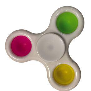 Fidget Pop-It Spinner Poppa