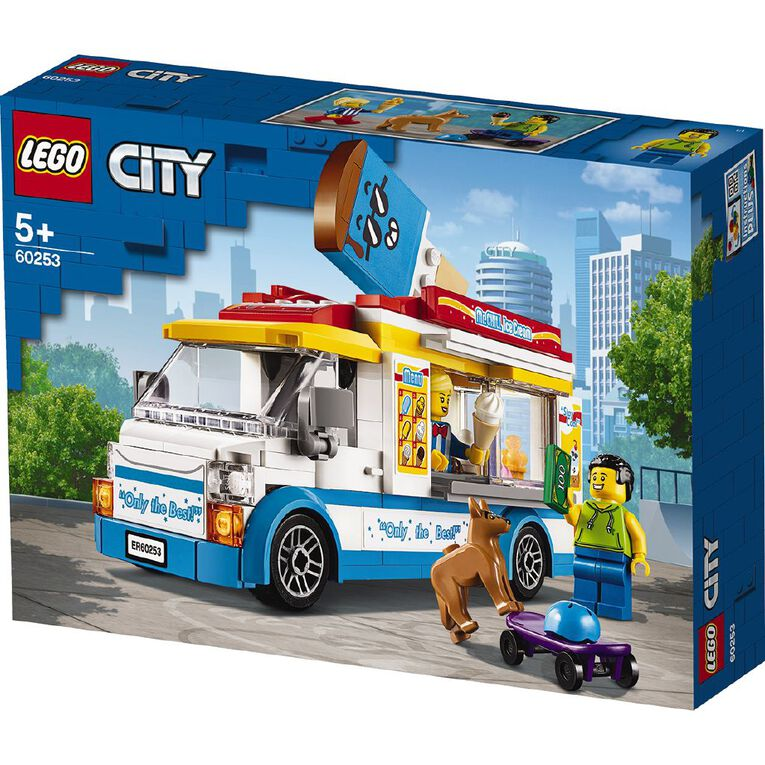 LEGO City Ice-Cream Truck 60253, , hi-res