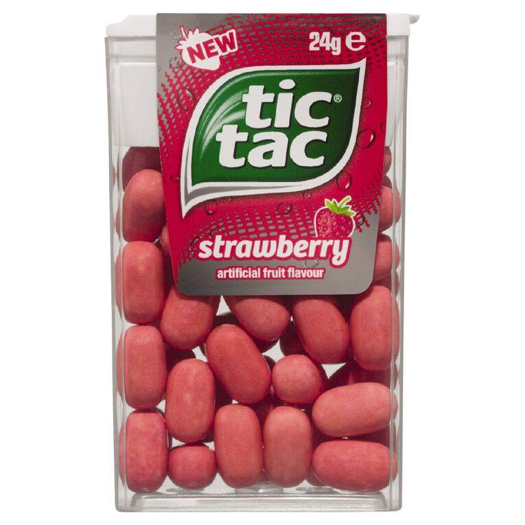 Tic Tac Strawberry 24G, , hi-res