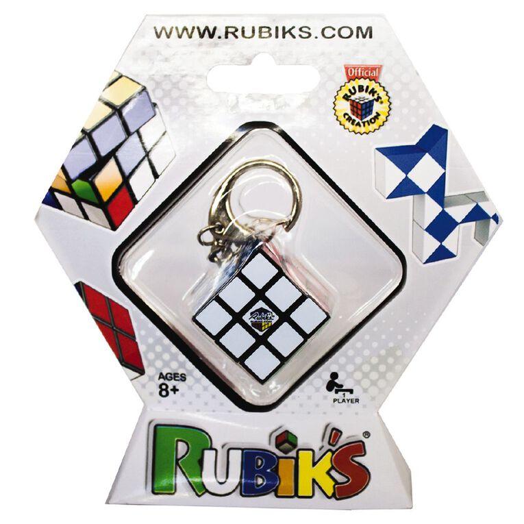 Rubiks 3x3 Cube KeyRing, , hi-res