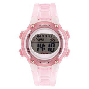Active Intent Women's Sports Digital Watch Pink