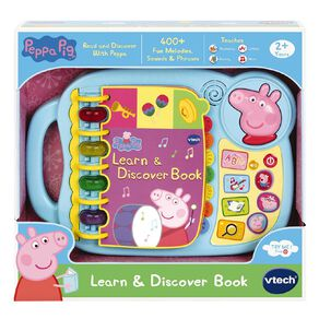Vtech Peppa Pig Learn & Discovery Book