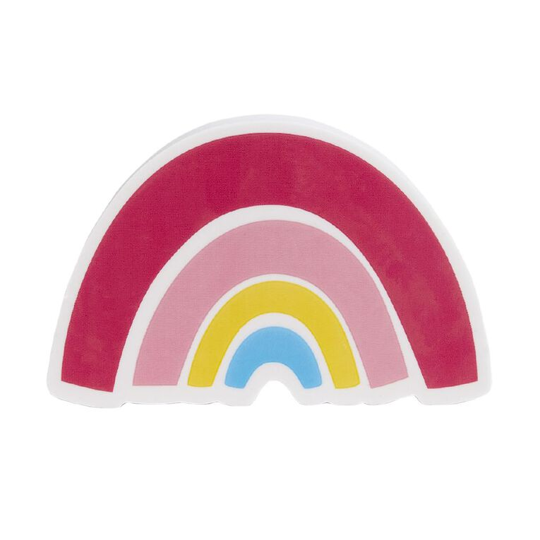 Kookie Bright Eraser Rainbow Pink, , hi-res