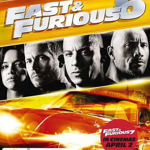 Fast & Furious 6 DVD 1Disc