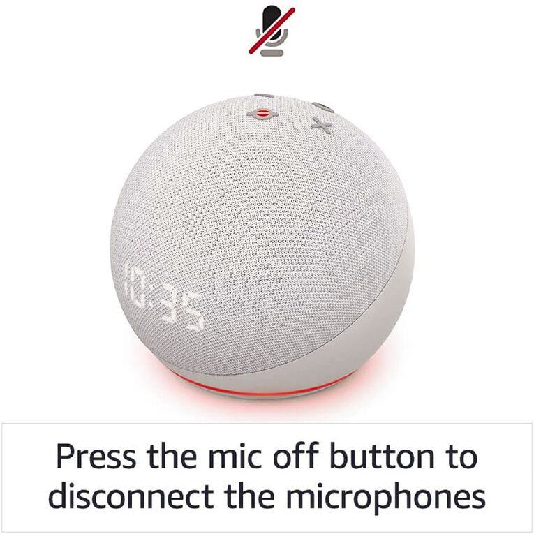 Amazon Echo Dot (4th Gen)  Charcoal, , hi-res