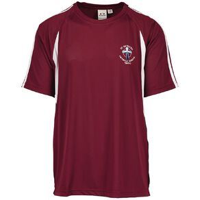 Schooltex St Patrick's Taupo PE Tee with Embroidery