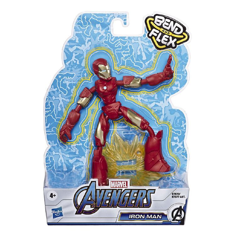 Marvel Avengers Bendy Figures Assorted, , hi-res